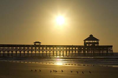 Folly Beach Pier Sunrise Original