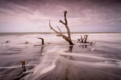 Photograph - Folly Beach Seascape by Serge Skiba