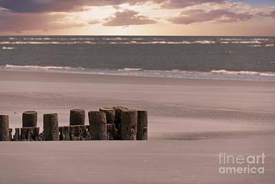 Photograph - Folly Beach Sunrise by Dale Powell