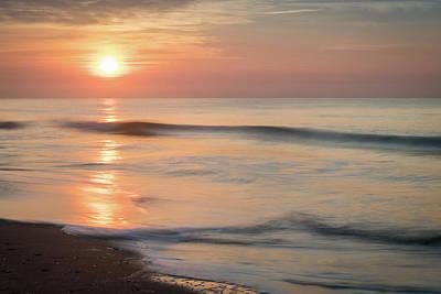 Photograph - Folly Beach Sunrise by L A Patterson