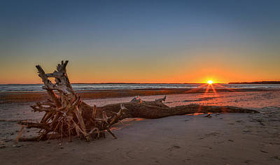 Photograph - Folly Beach Sunset by Donnie Whitaker