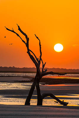 Photograph - Folly Beach Sunset by Dustin Ahrens
