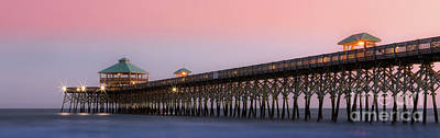 Photograph - Folly Pier by Jerry Fornarotto