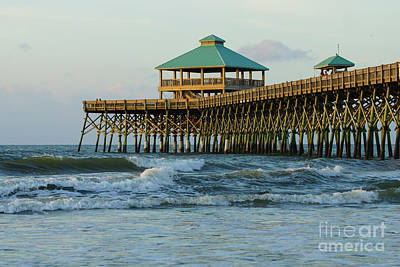 Photograph - Folly Pier Morning by Jennifer White
