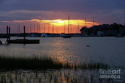 Photograph - Folly River Sunset by Jennifer White