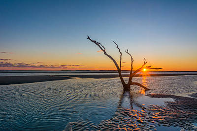 Folly Sunset Art Print by RC Pics