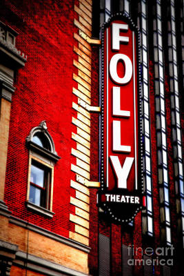 Folly Theater Art Print