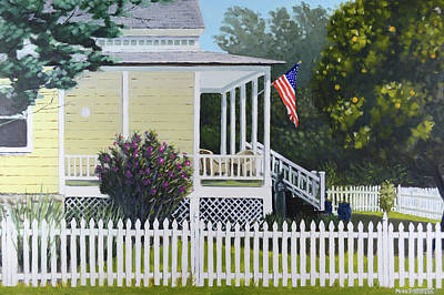 Painting - Folsom 4th Of July by Mike Patterson