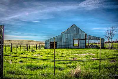 Photograph - Folsom Barn by Steph Gabler