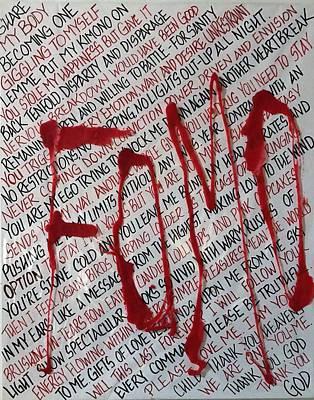 Fomo Original by Jessica Leigh