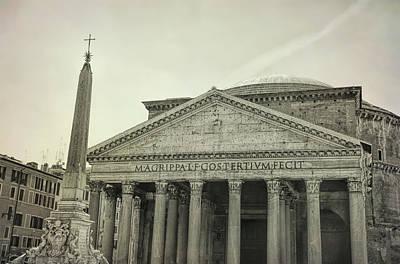 Photograph - Fonatana Del Pantheon by JAMART Photography