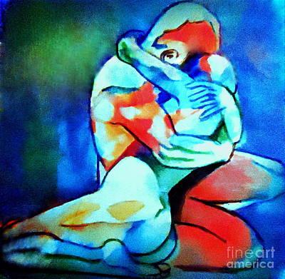 Painting - Fond Embrace by Helena Wierzbicki