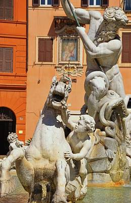 Photograph - Piazza Fontana Dei Calderari by JAMART Photography