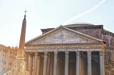Photograph - The Fontana Del Pantheon by JAMART Photography
