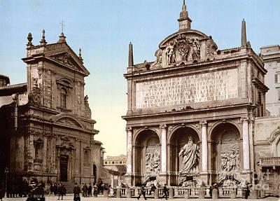 Fontana Dellacqua Felice, 1890s Print by Science Source