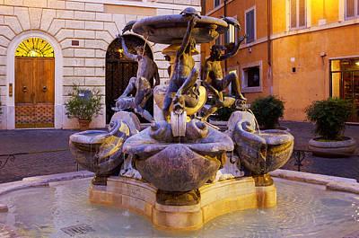 Photograph - Fontana Delle Tartarughe by Fabrizio Troiani