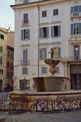 Fontana Di Piazza Farnese Art Print by JAMART Photography