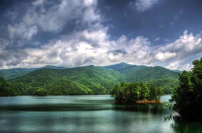 Western North Carolina Photograph - Fontana Lake Lighter by Greg Mimbs