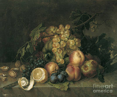 Still Life Painting - Fontanet Barcelona by MotionAge Designs