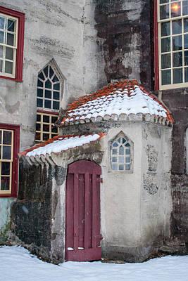 Mercer Tile Photograph - Fonthill by Barbara J