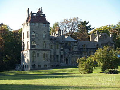 Mercer Tile Photograph - Fonthill Castle In Doylestown Pa by Anna Lisa Yoder