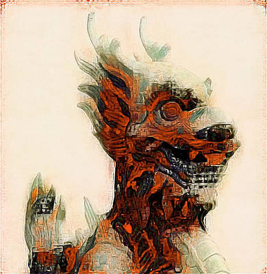 Photograph - Foo Dog by Susan Maxwell Schmidt