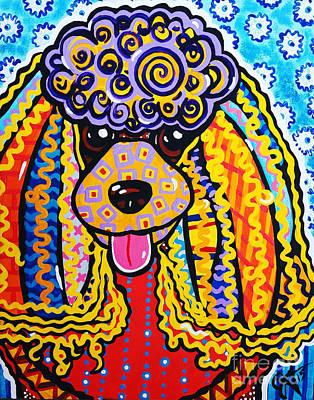 Black Cocker Spaniel Painting - Foo Foo by Jackie Carpenter