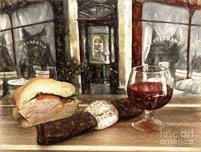 Photograph - Food And Drink by Cecil Fuselier