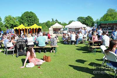 Photograph - Food And Drink Festival At Tenterden by David Fowler