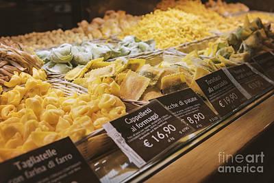 Food Court Pasta Art Print by Sophie McAulay