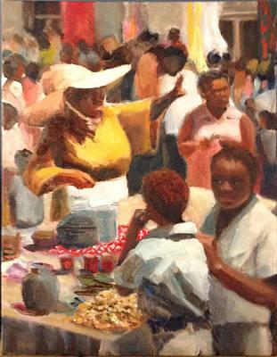 Food Fair St. Thomas Art Print
