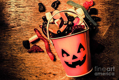 Festive Photograph - Food For The Little Halloween Spooks by Jorgo Photography - Wall Art Gallery