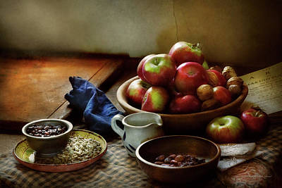 Photograph - Food - Fruit - Ready For Breakfast by Mike Savad