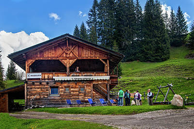 Photograph - Food Hut In The Alpe Di Siusi by Carolyn Derstine