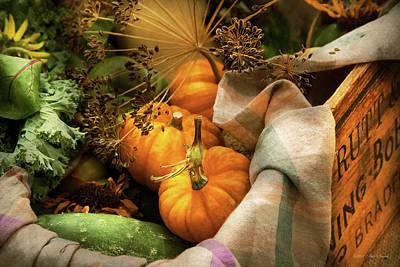 Photograph - Food - Pumpkin - Summer Still Life by Mike Savad