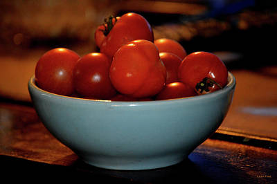 Photograph - Food Teasing Tomatoes by Lesa Fine