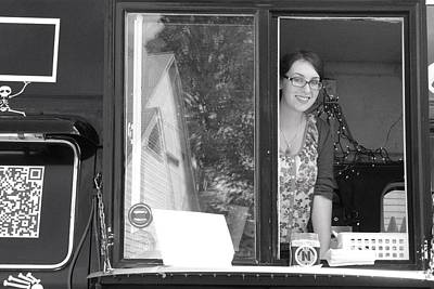 Photograph - Food Truck Hostess by Polly Castor