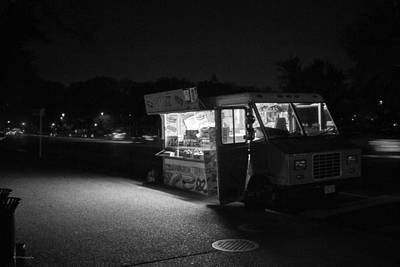 Photograph - Food Truck, Late Hours by Ross Henton