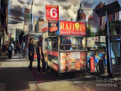 Photograph - Food Truck - Union Square by Miriam Danar