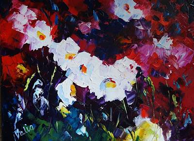 Painting - Foolin' With Flowers by Valerie Curtiss