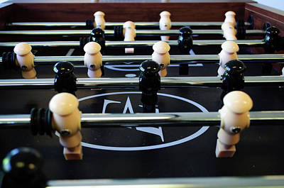 Photograph - Foosball by Tikvah's Hope