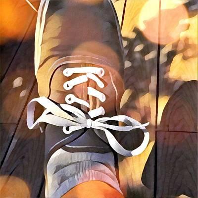 Foot At Rest Art Print