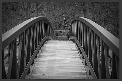 Foot Bridge Art Print by John Ohm