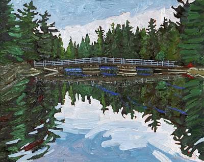 Foot Bridge Original by Phil Chadwick