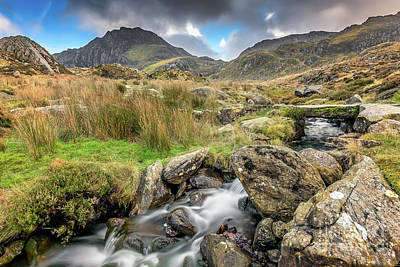 Photograph - Foot Bridge To Snowdonia by Adrian Evans