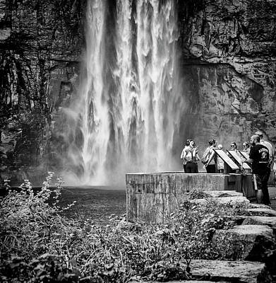 Photograph - Foot Of The Falls by Marvin Borst