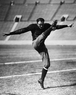 Photograph - Football, 20th Century by Granger