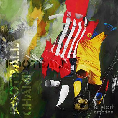 Football 675kk Art Print by Gull G