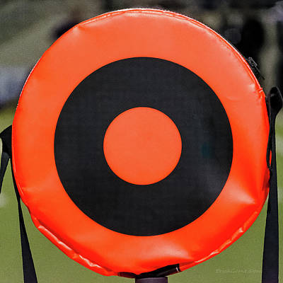 Photograph - Football Bull's-eye by Erich Grant