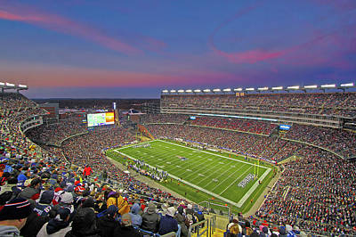 Photograph - Football Dynasty New England Patriots  by Juergen Roth